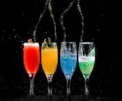 4 glaasjes